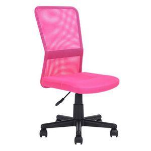 CHAISE DE BUREAU Chaise de bureau en maille avec un rembourrage épa