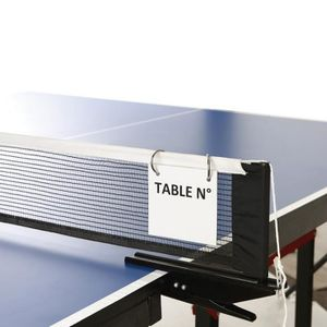 FILET TENNIS DE TABLE Affichage terrain Tremblay (x3) - blanc - TU