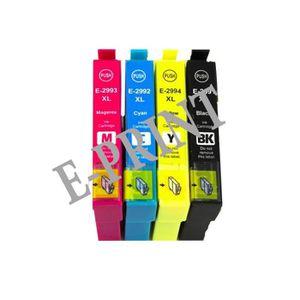 CARTOUCHE IMPRIMANTE Cartouche génerique Pack 4 Couleurs pour Epson T29