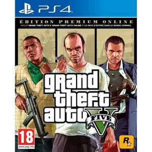 JEU PS4 GTA V : EDITION PREMIUM Jeu PS4