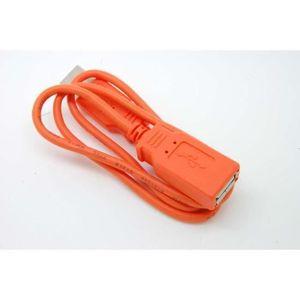 COQUE MP3-MP4 USB Extension Chargeur de données Lead Cable For S