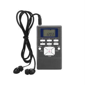 RADIO CD CASSETTE Radio de poche FM Portable Transistor FM Radio à s