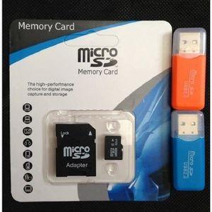 CARTE MÉMOIRE Carte Micro SD 32 Go classe 10 - avec adaptateur S