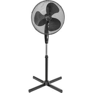 VENTILATEUR BESTRON Ventilateur sur pied - Panier 45cm - Noir