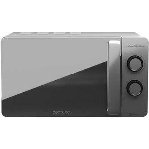 Minuterie 60 minutes 5 Niveaux de Fonctionnement 800 W de Puissance Gril 1000 W Cecotec Micro-ondes avec Gril ProClean 6120 Capacit/é d/'23 L Rev/êtement Ready2Clean 8 Programmes /Écran LED.