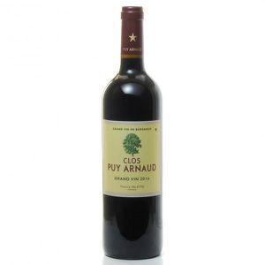 VIN ROUGE Clos Puy Arnaud AOC Castillon Côtes de Bordeaux Ro