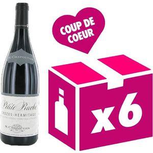 VIN ROUGE Crozes Hermitage Petite Ruche vin rouge 6x75cl Cha
