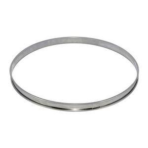 CADRE A PATISSERIE DE BUYER Cercle à tarte - Inox - Ø 30 x H 2 cm - T