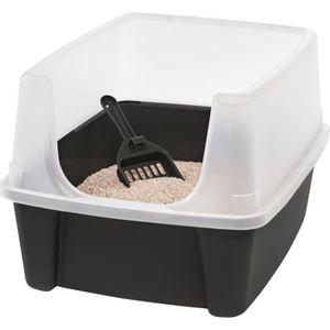 BAC À LITIÈRE IRIS OHYAMA - Bac à litière pour chat avec pelle -