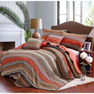 PARURE DE DRAP Parure linge de lit couchette 1 couvre boutis mate