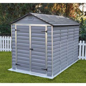 ABRI JARDIN - CHALET MADEIRA Abri polycarbonate + plancher 5 m²