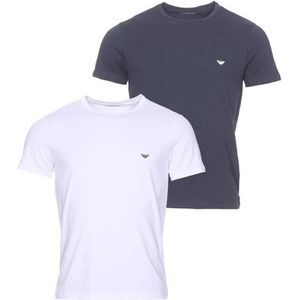 T-SHIRT Lot de 2 tee-shirts col rond Emporio Armani en cot