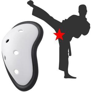 ShockDoctor Coquille de Protection avec Ultra Carbon Flex Cup pour Hommes MMA Muay Thai/… Krav Maga Karate Taekwondo Concu pour faire du Sports de Combat: Boxe