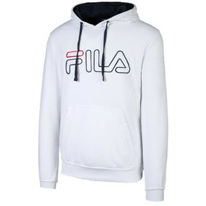 SWEAT-SHIRT DE SPORT Sweat à Capuche Fila Willliam Blanc