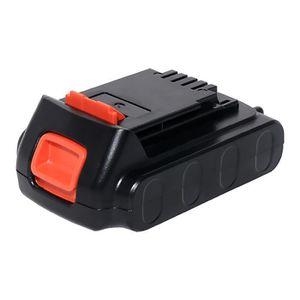 BATTERIE MACHINE OUTIL Batterie 18V, 2Ah, Li-Ion pour Black & Decker ASL1