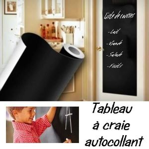 rouleau tableau noir achat vente rouleau tableau noir. Black Bedroom Furniture Sets. Home Design Ideas