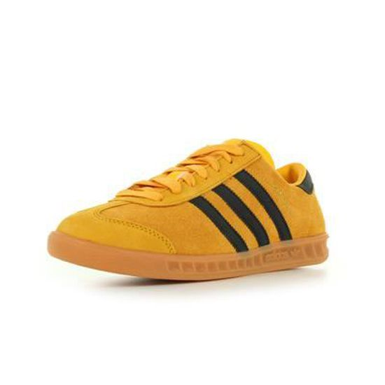 Adidas Hamburg Jaune Jaune et noir - Cdiscount Chaussures