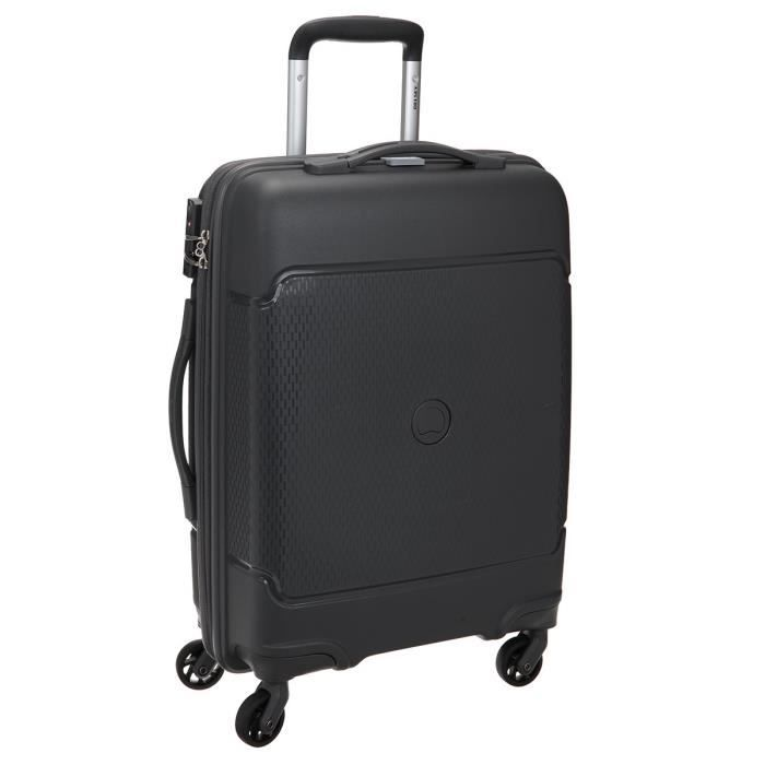 3ec13f8bef ... 4 Roues 55cm SEJOUR Anthracite. VALISE - BAGAGE VISA DELSEY Valise  Cabine Low Cost Rigide Polyprop