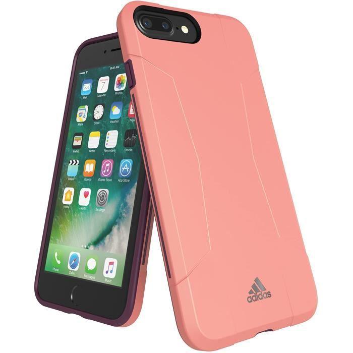 Adidas Performance Solo Étui Portable Pour Apple IPHONE 7 Plus Tactile Rose