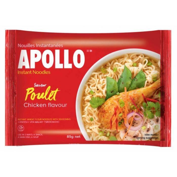 APOLLO Nouille insantanées saveur Poulet - 85 g