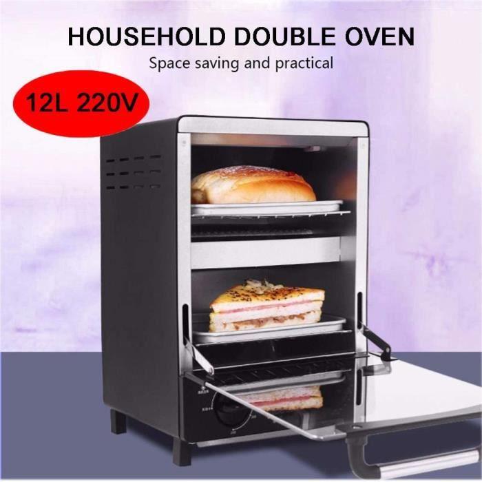 Fours à pizza extérieurs MAOMAOQUEENss Le Mini Four 220V 12L Est Une DéLicieuse Machine à PréParer Les Aliments Et Une A 96190