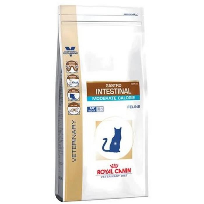 Royal Canin Gastro Intestinal Moderate Calorie Nourriture pour Chat 400 g 446706