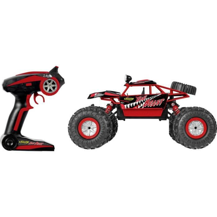 Crawler Carson Modellsport The Beast 500404130 électrique brushed 2,4 GHz 4 roues motrices (4WD) 100% RtR 1:12 1 pc(s)