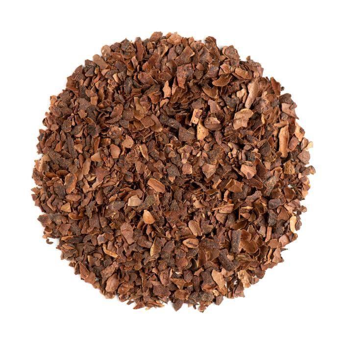 Ecorce De Cacao Thé Bio - Ecale De Cacao - Coque De Cacao 200g