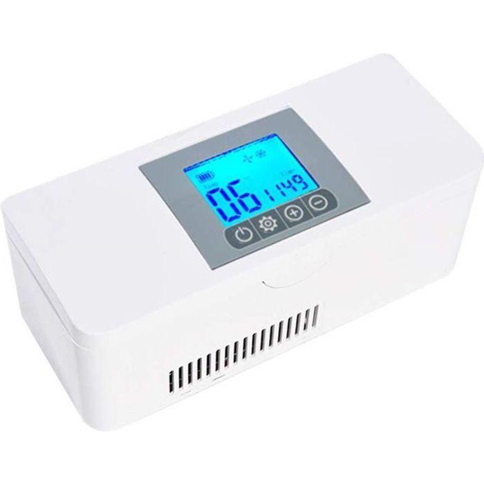 LYHD Glacière portative à insuline réfrigérateur pour médicaments et glacière à insuline - Mini Drug Reefer