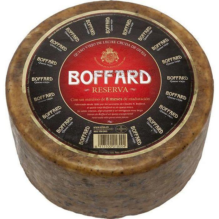 Fromage Type Manchego au lait cru de brebis Boffard 1,1 Kg