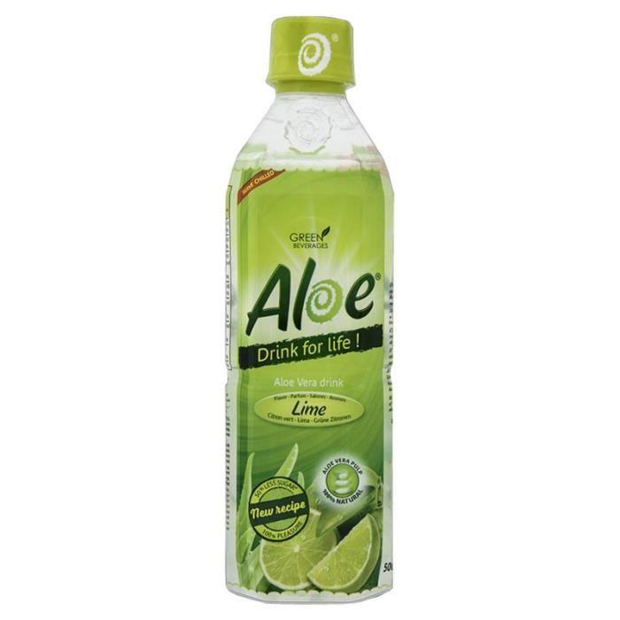 Aloe - Aloe Citron Vert 50cl (pack de 12)