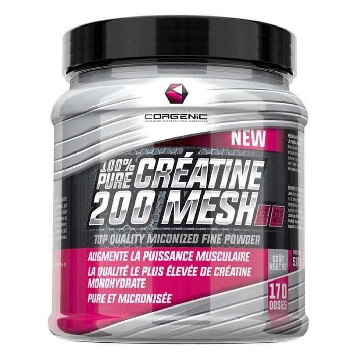 CORGENIC 100% PURE CREATINE 200 MESH 510 g