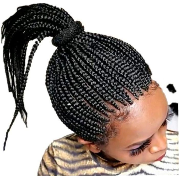 Afro Braiding Perruques Séparation de la partie Twist Crochet Cheveux Tressages naturels pour femmes noires 10inch