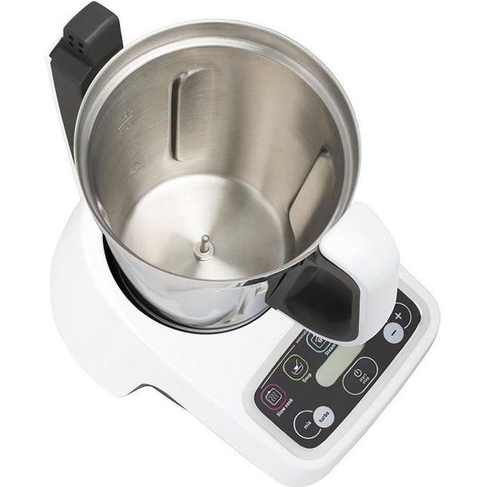 Moulinex Volupta HF404113 – Robot de cuisine multifonctions 1 000 W, capacité de 3L