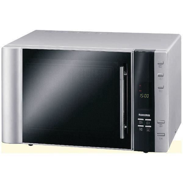 Severin Micro-ondes grill - Argenté - 900W - 30 L