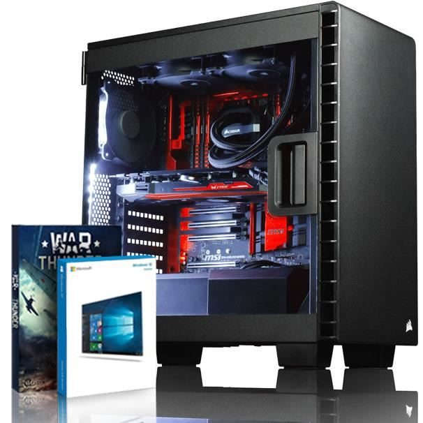Vibox Species X Rxs770 154 Pc Gamer Ordinateur avec Jeu Bundle, Win 10 (4,5Ghz Intel i7 Extreme Quad Core Processeur , Asus Strix Ra