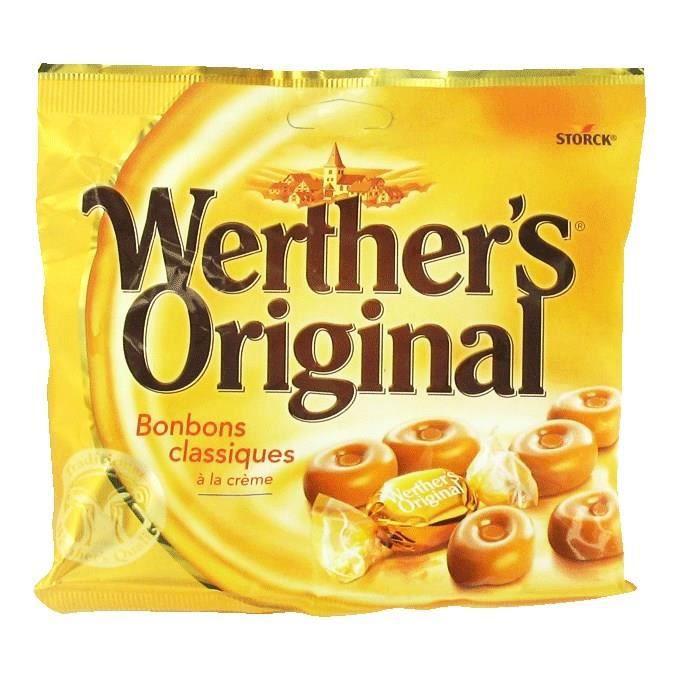 WERTHER'S ORIGINAL Caramels au beurre et à la crème - 175 g