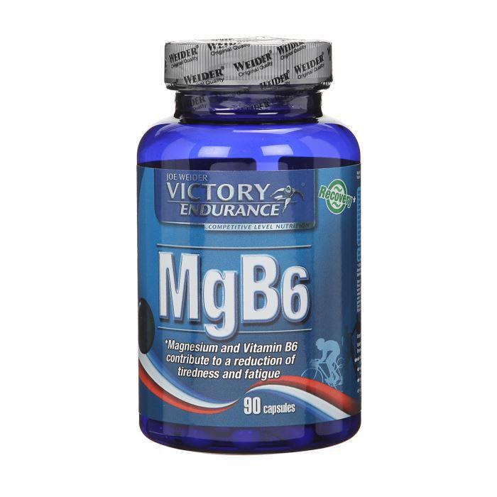 PROTÉINE WEIDER Sachet de Mg B6 90 Gélules