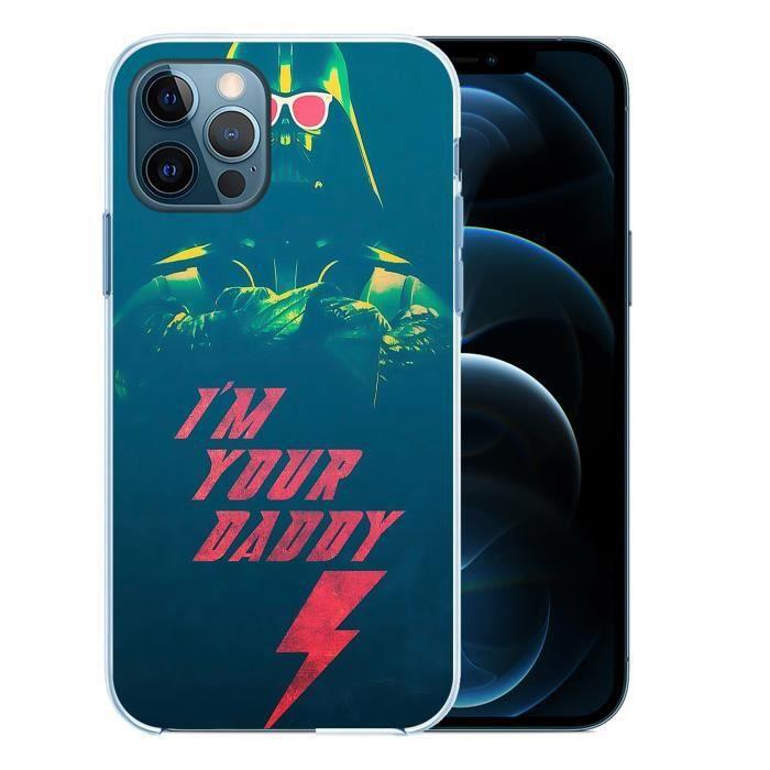Coque pour iPhone 12 PRO MAX - Star Wars Vador Im