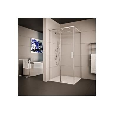 paroi de douche angulaire lumi re seviban 180 cm transparent composition douche angulaire 3. Black Bedroom Furniture Sets. Home Design Ideas