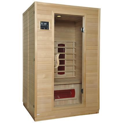 Sauna luxe infrarouge 190 m achat vente kit sauna for Sauna exterieur occasion