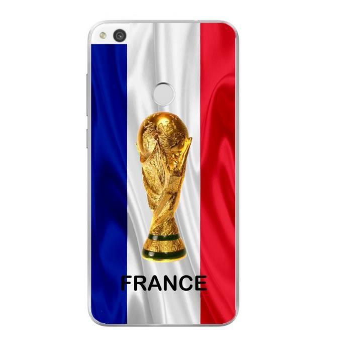 Coque pour Huawei P8 lite 2017 Foot Coupe Du Monde France Football ...