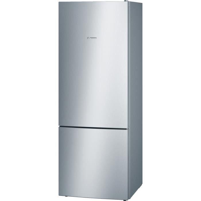 RÉFRIGÉRATEUR CLASSIQUE BOSCH KGV58VL31S - Réfrigérateur combiné - 500 L (