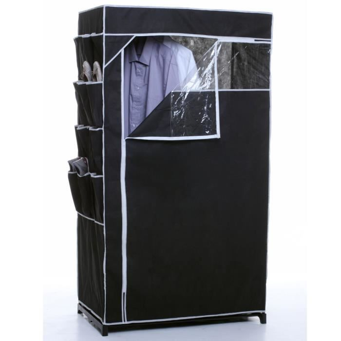 armoire penderie souple non tisse pvc achat vente. Black Bedroom Furniture Sets. Home Design Ideas