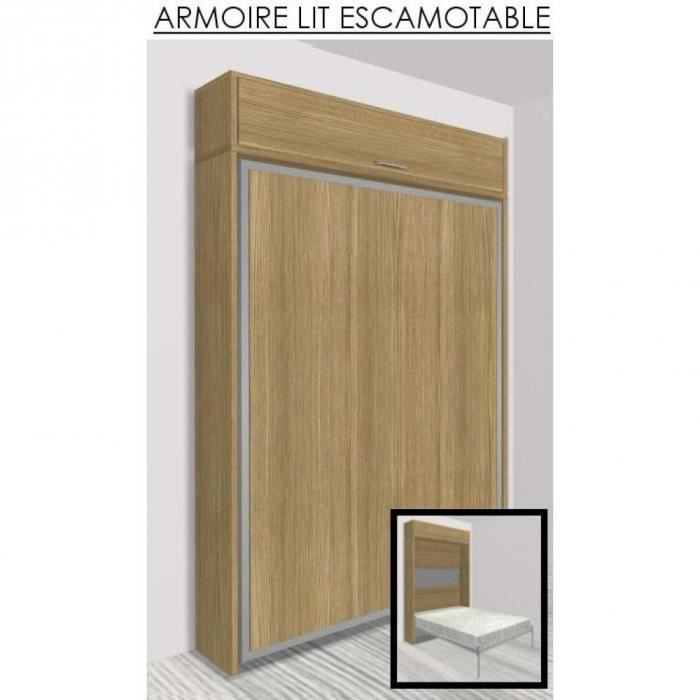 armoire lit escamotable eos ch ne couchage 14 achat vente lit escamota. Black Bedroom Furniture Sets. Home Design Ideas