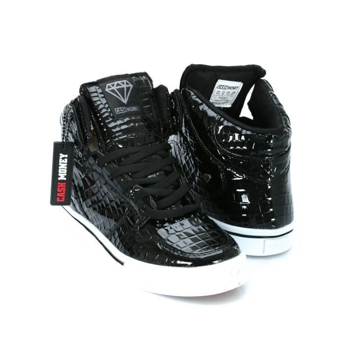 baskets montante cash money cms13 starlight noir noir noir achat vente basket cdiscount