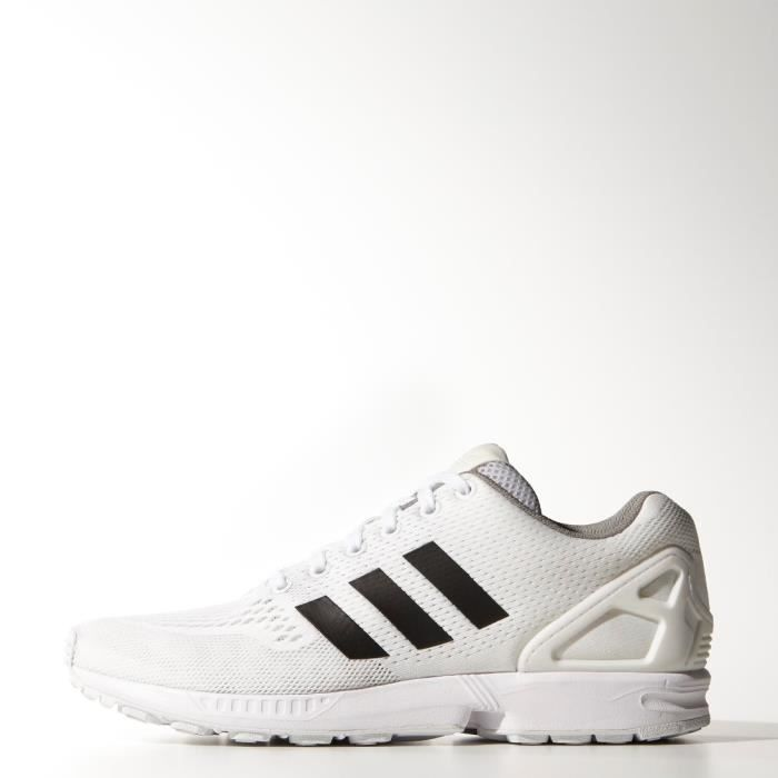 new products 13a6c 1fb0f BASKET Zx flux b34513 running torsion blanche bandes noir