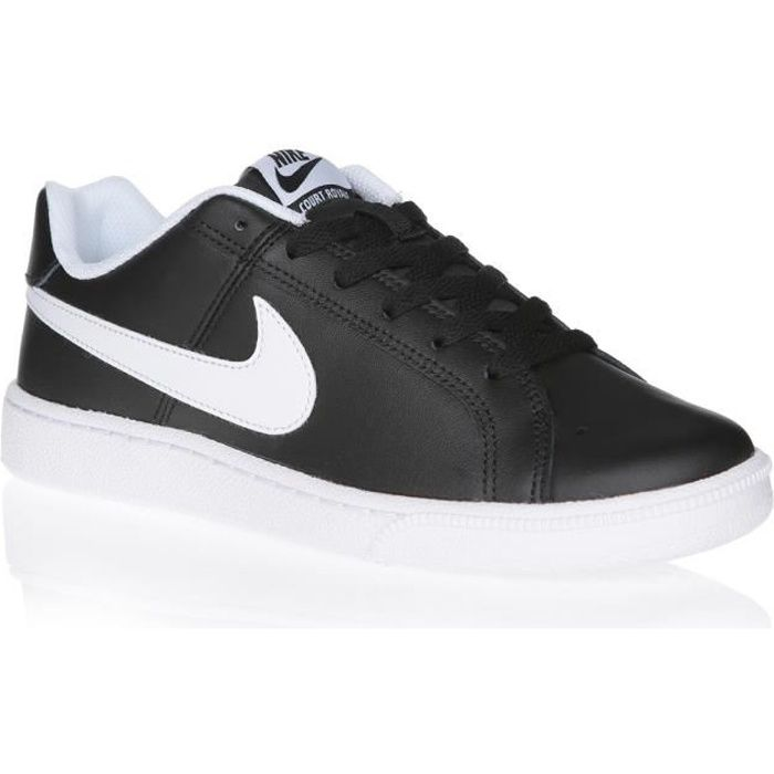 Nike Chaussures Baskets Court Royale Suede Noir H Nike soldes