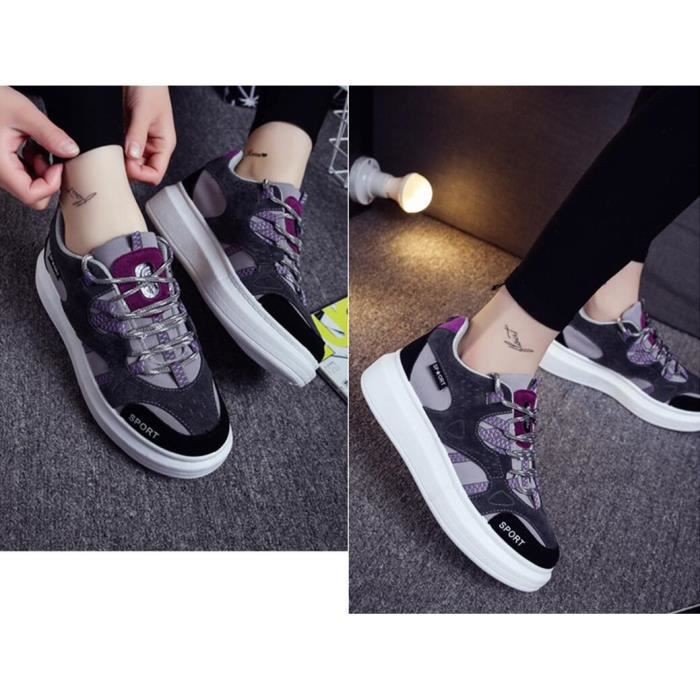 New Style Mode Loisirs Sneakers femmes