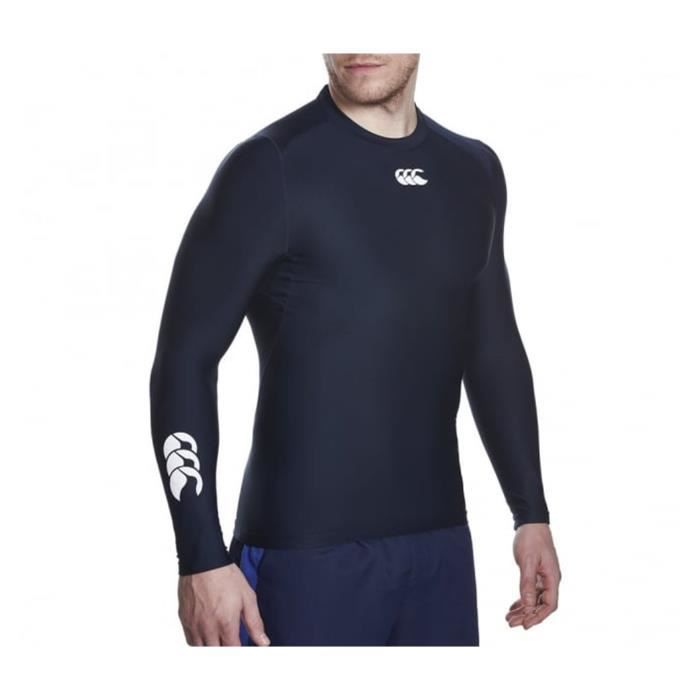 T-SHIRT THERMIQUE Baselayer Manches Longues Canterbury Thermoreg Noi